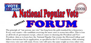National Popular Vote Forum